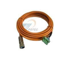 伺服电机电源连接线